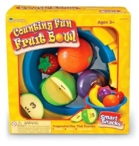 LR COUNTING FUN FRUITS BOWL
