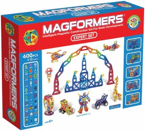 MAGFORMERS 400 PC EXPERT SET