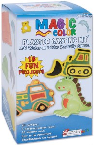 MAGIC COLOR PLASTER KIT BOY