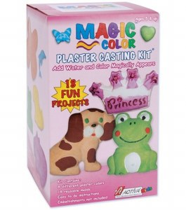 MAGIC COLOR PLASTER KIT GIRL