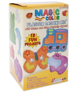 MAGIC COLOR PLASTER KIT