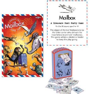 EEBOO MAIL BOX PARTY GAME