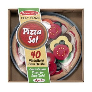 MD FELT FOOD PIZZA SET