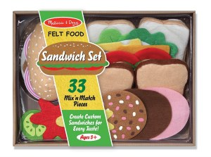 MD FELT FOOD SANDWICH SET