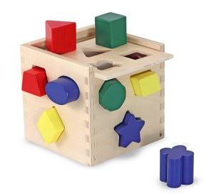 MD SHAPE SORTING CUBE