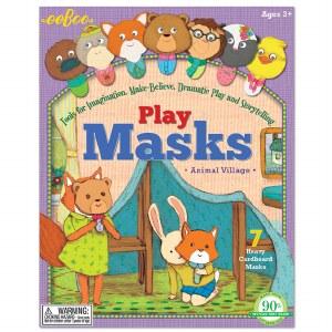 PLAY MASKS ANIMAL VILLAGE