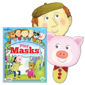 PLAY MASKS MYSTERY IN THE FORE