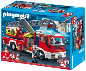 PLAYMOBIL 4821 FIRE ENGINE