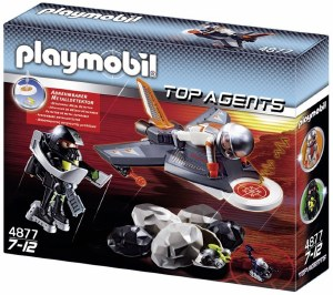 PLAYMOBIL 4877 DETECTION JET