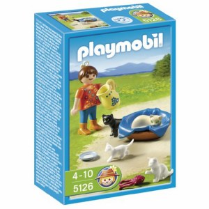 PLAYMOBIL 5126 GIRL W/CATS