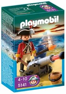PLAYMOBIL 5141 REDCOAT GUARD W