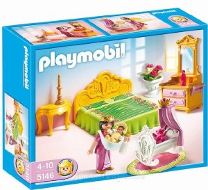 PLAYMOBIL 5146 ROYAL BED CHAMB