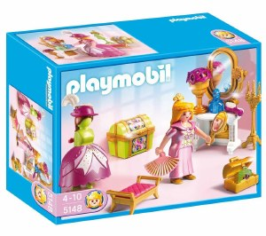PLAYMOBIL 5148 ROYAL DRESSING