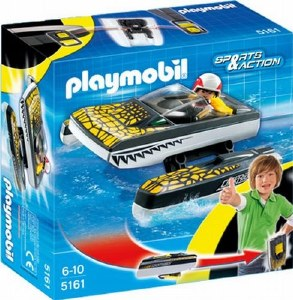 PLAYMOBIL 5161 SPEEDBOAT CLICK