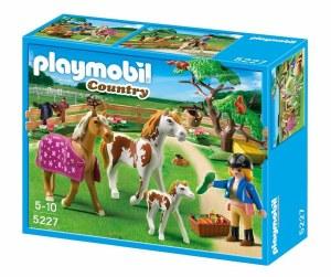 PLAYMOBIL 5227 PADDOCK W/HORSE
