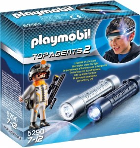 PLAYMOBIL 5290 HEADLIGHT W/SPY