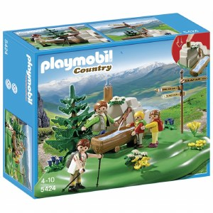 PLAYMOBIL 5424 BACKPACKER FAMI