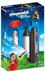 PLAYMOBIL 5452 POWER ROCKETS