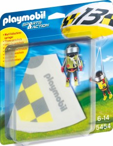 PLAYMOBIL 5454 PARACHUTIST GRE