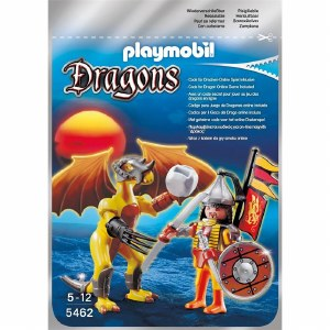 PLAYMOBIL 5462 STONE DRAGON W/