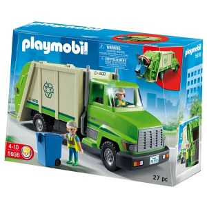 PLAYMOBIL 5679 RECYCLING TRUCK