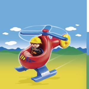 PLAYMOBIL 6789 FIRE RESCUE HEL