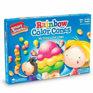 LR RAINBOW COLOR CONES