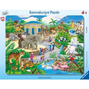 RAV VISIT TO THE ZOO PUZZLE