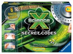 SCIENCE X SECRET CODES