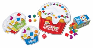 LR SORTING SHAPES CUPCAKES