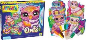STICKY MOSAICS OWLS