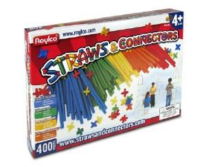 STRAWS & CONNECTORS 400 PIECES