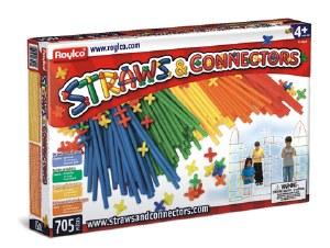 STRAWS & CONNECTORS 705 PIECES