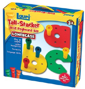 TALL STACKER A-Z  PEGBOARD SET
