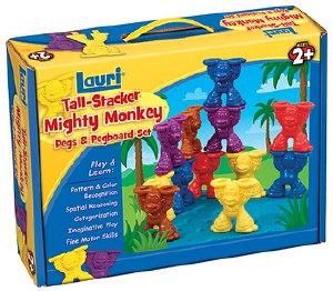 TALL STACKER MONKEY PEGS SET
