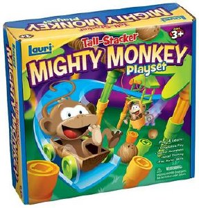 TALL STACKER MONKEY PLAYSET