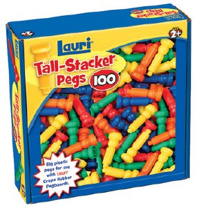 TALL STACKER PEGS 100 PIECES