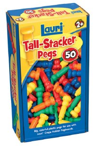 TALL STACKER PEGS 50 PIECES