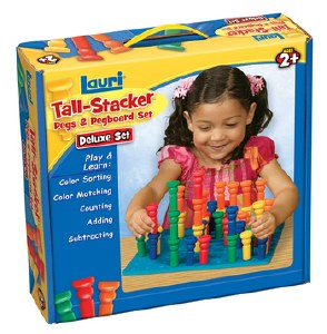 TALL STACKER PEGS LARGE SET