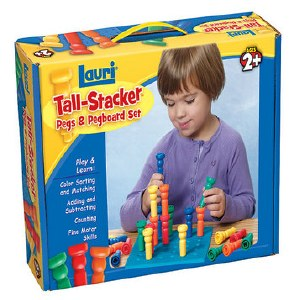 TALL STACKER PEGS SET