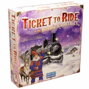 TICKET TO RIDE NORDIC COUNTRY