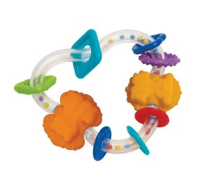 TRIANGLE TEETHER RATTLE