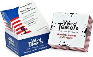 WORD TEASERS AMERICAN HEROES