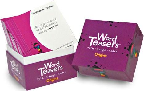 WORD TEASERS ORIGINS