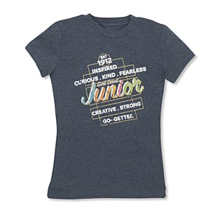 Junior Gray Inspired Tee-Youth Small