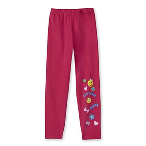 Daisy Pink Knit Pants-XXSmall