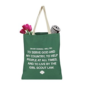 Girl Scout Promise Tote