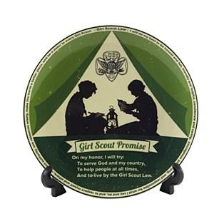 Vintage Promise & Law Plate