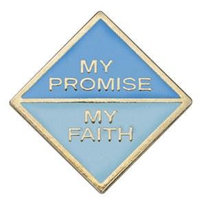 Daisy My Promise, My Faith Pin Year 2