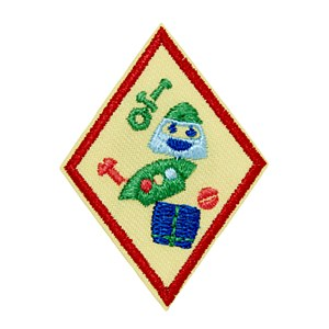 Cadette Designing Robots Badge